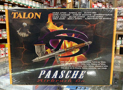 Paasche Talon Airbrush Set TG-3F (Double Action Internal Mix Gravity Feed)