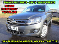 2013 Volkswagen Tiguan 2.0TDI (140ps) (4WD) BlueMotion Tech DSG Match - KMT Cars