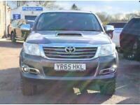 2015 Toyota HI-LUX INVINCIBLE X 4X4 D-4D DCB Auto Pick Up Diesel Automatic