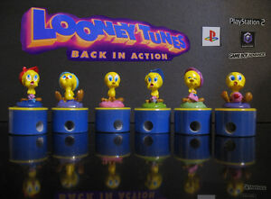 Looney Tunes TWEETY pencil sharpener stampers Back in Action PS2