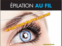 Épilation /Threading hair removal /( metro Laurier)
