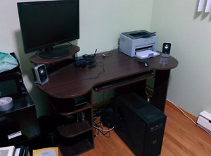 Gaming PC Bundle w/monitor, keyboard, headset and speakers