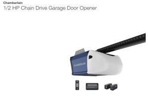 NEW Chamberlain 1/2 HP Chain Drive Garage Opener - HD210C