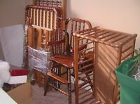 Matching Baby Furniture, Highchair,  Crib, Changetable
