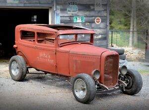 1931 MODEL A DIESEL RAT ROD PROJECT OR TURNKEY