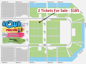 FLOOR/ROW 13 - Aqua & Prozzak Tickets