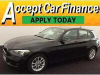 BMW 116 1.6TD Sports Hatch 1595cc 2012MY d EfficientDynamics FROM £48 PER WEEK !