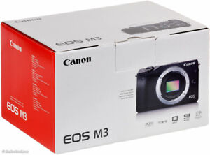 Canon Wireless EOS M3 18-55 Camera Kit with lens (brand new)