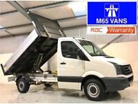 VW VOLKSWAGEN CRAFTER TIPPER 2.0TDI 2015 CR35 MWB LOW MILEAGE 36,000 1 OWNER