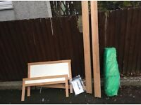 IKEA TODDLER BED FRAME ** FREE DELIVERY AVAILABLE MONDAY NIGHT **