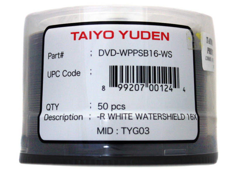 Taiyo Yuden Water Shield