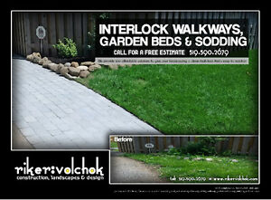 Professional Landscaping - Decks, Interlock, Gardens, Sod & more Kitchener / Waterloo Kitchener Area image 4