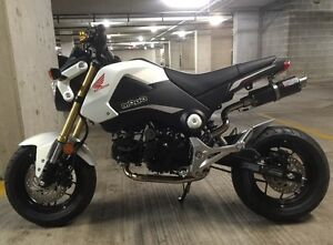NEW ............. White 2015 Honda GROM .................. 98kms