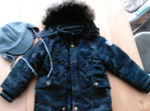 Manteau d'hiver Mexx 24-30 mois garçon