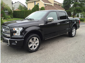 2015 Ford F-150 SuperCrew Platinum Pickup Truck- IMPECABLE