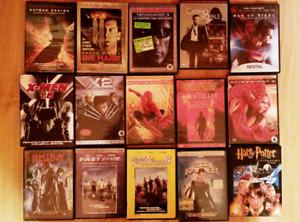 Collection DVD 1$ ou moins chaque.