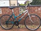 "Professional unisex mountain Hybrid bike. 18"" frame. 26"" wheels. Work"