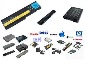 Wow    Batteries pour laptops !! 25$