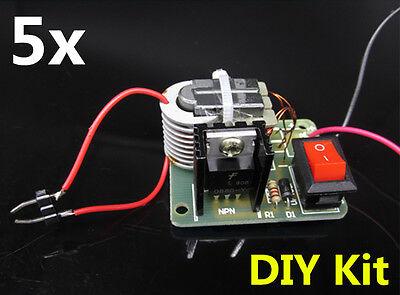 5x 15kv High Voltage Inverter Generator Step Up Arc Ignition Coil Module Diy