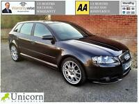 2007 Audi A3 2.0TDI Sportback S Line PANORAMIC ROOF, FULL LEATHER, BOSE