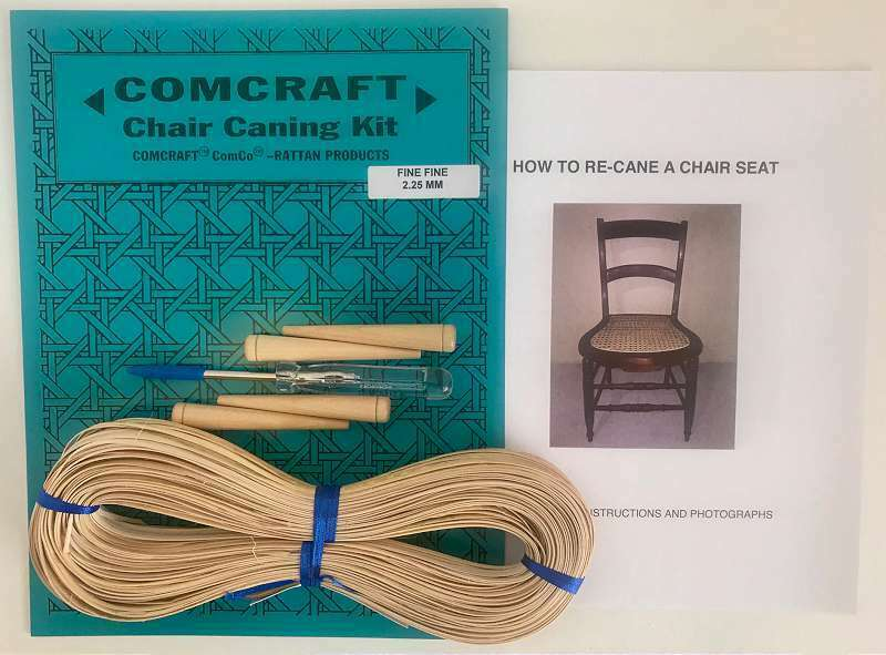 Comcraft Chair Caning Kit Fine Fine 2.25mm Cane 752303366467