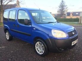 FIAT DOBLO 1.3 DIESEL DISABLED ACCESSIBLE MOBILITY SCOOTER WAV 66K FSH 7 STAMPS