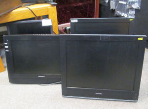 "4 models 19"" used LCD flatscreen TVs at Cranbrook's best prices"