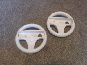 Two Official Nintendo Wii Wheels