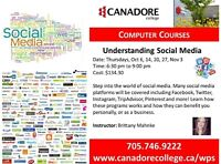 Understanding Social Media, Canadore College. Parry Sound