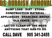 RUBBISH, GARBAGE, JUNK REMOVAL