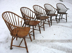 Antique Canadiana Country Chairs or Armchairs