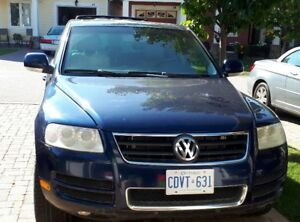 2004 VW Fearless Touareg V8 is SOLD