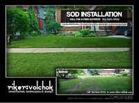 $1.25/SQ FT SOD INSTALLATION  -       need your lawn replaced???
