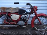 Suzuki 80cc motorcycle