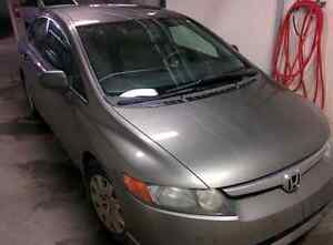 2007 Honda Civic DX-G Sedan - Ultra Reliable, Remote Starter Strathcona County Edmonton Area image 1