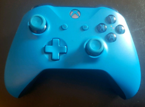 XBOX One S Blue Controller in Mint Condition