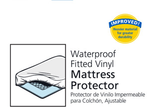 Brand new Fitted Waterproof Mattress Protector /for double matt
