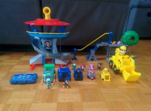 Lot de jouets PatPatrouille