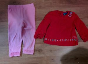 Chandail et pantalon 12 mois