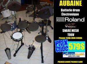 AUBAINE Batterie drum électronique ROLAND TD-6V Snare MESH ET+
