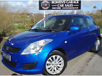 2011 (61) SUZUKI SWIFT 1.2 SZ3 3DR - 1 OWNER - £30 TAX - FULL SUZUKI S/HISTORY