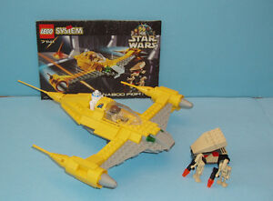 LEGO STAR WARS no 7141, le NABOO FIGHTER