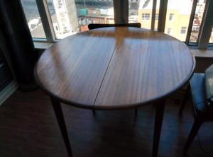 Teak dining room set Mid century modern