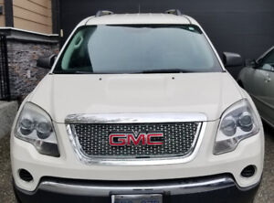 GMC ACADIA 2010 FWD, WHITE for $8500 done 115,000 kms