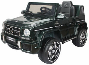 Brand New 12V Mercedes Benz G63 Child Ride On Remote Music Radio