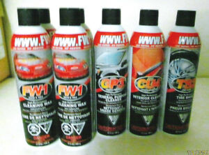 NEW Cans of Car Cleaners