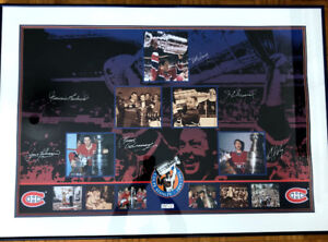 Les Canadiens -Limited Edition -Stanley Cup- Collage from 1993
