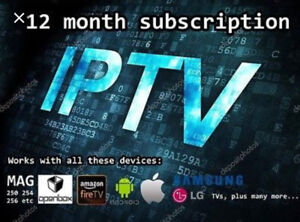 IPTV for every types of boxes-Apple TV4-4K-Androids-iPad-Tablets