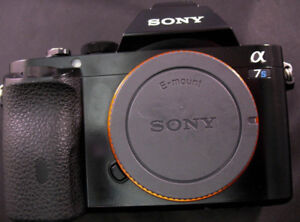 Sony A7S Full-frame Mirrorless camera