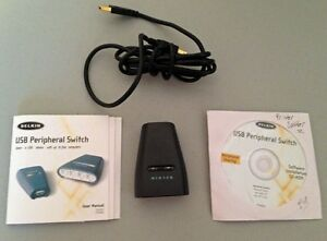 Belkin USB Peripheral Switch (2 Port) - Like New Condition